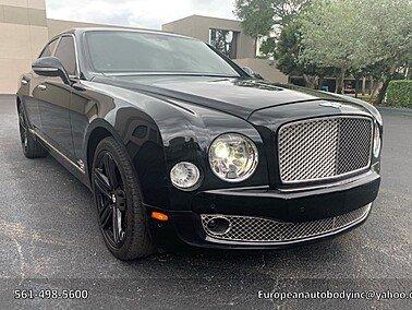 2011 Bentley Mulsanne for sale 101526276
