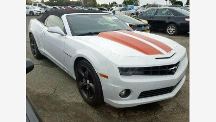 2011 Chevrolet Camaro SS Convertible for sale 101110690