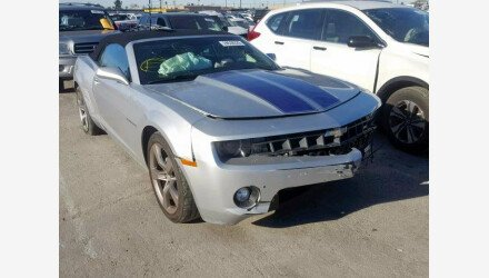 2011 Chevrolet Camaro LT Convertible for sale 101110820