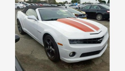2011 Chevrolet Camaro SS Convertible for sale 101126855
