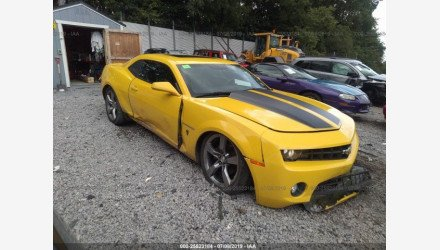 2011 Chevrolet Camaro LT Coupe for sale 101224596