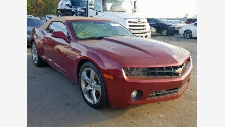 2011 Chevrolet Camaro LT Convertible for sale 101270546
