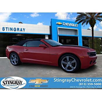 2011 Chevrolet Camaro LT Convertible for sale 101317402