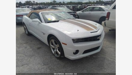 2011 Chevrolet Camaro SS Convertible for sale 101341641