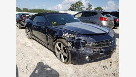 2011 Chevrolet Camaro LT Convertible for sale 101412963
