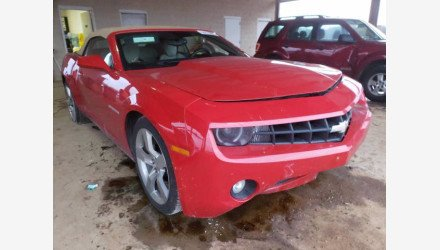 2011 Chevrolet Camaro LT Convertible for sale 101436834