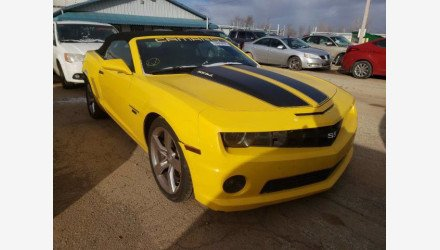2011 Chevrolet Camaro SS Convertible for sale 101465811