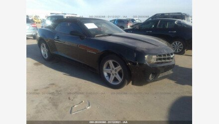 2011 Chevrolet Camaro LT Convertible for sale 101487699