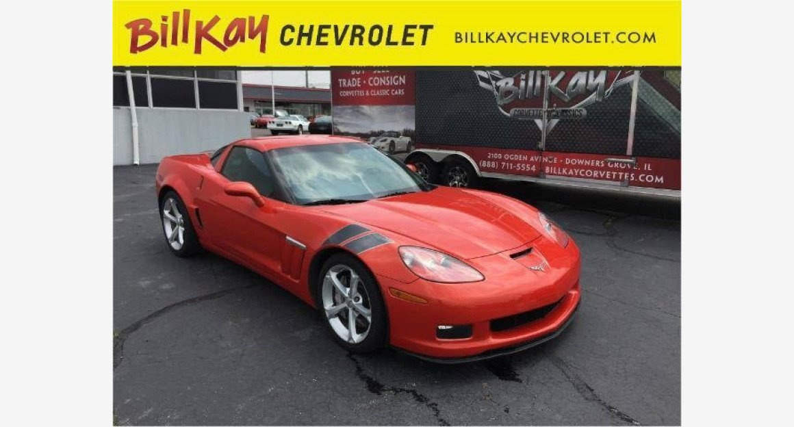 2011 Chevrolet Corvette Grand Sport Coupe for sale 100883755