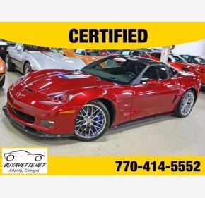 2011 Chevrolet Corvette ZR1 Coupe for sale 101099042