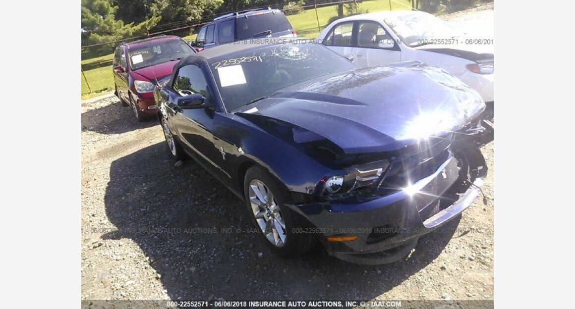 2011 Ford Mustang Convertible for sale 101015761
