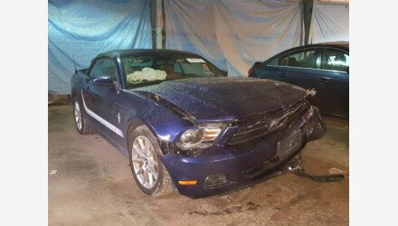 2011 Ford Mustang Convertible for sale 101058067