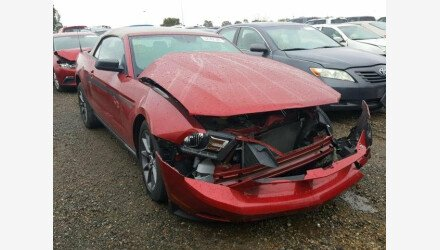 2011 Ford Mustang Convertible for sale 101066252