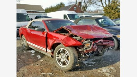 2011 Ford Mustang Convertible for sale 101109331