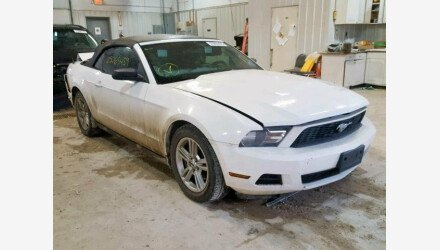 2011 Ford Mustang Convertible for sale 101112146