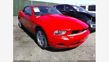 2011 Ford Mustang Convertible for sale 101124753