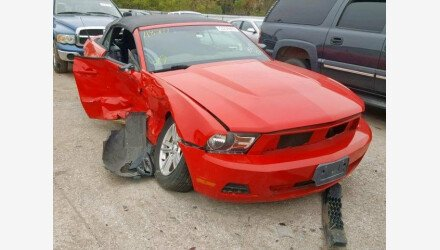 2011 Ford Mustang Convertible for sale 101234594