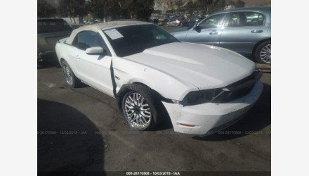 2011 Ford Mustang GT Convertible for sale 101235766