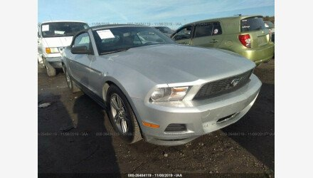 2011 Ford Mustang Convertible for sale 101236040