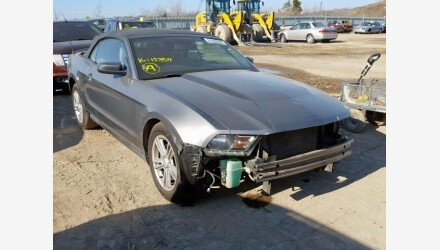 2011 Ford Mustang Convertible for sale 101290639