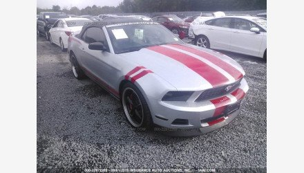 2011 Ford Mustang Convertible for sale 101293782