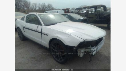 2011 Ford Mustang Coupe for sale 101326005