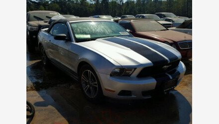 2011 Ford Mustang Convertible for sale 101345026