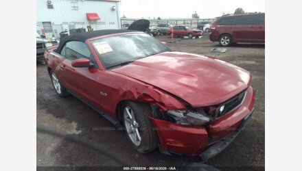 2011 Ford Mustang GT Convertible for sale 101346759