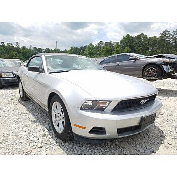 2011 Ford Mustang Convertible for sale 101355882