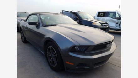 2011 Ford Mustang Convertible for sale 101361634