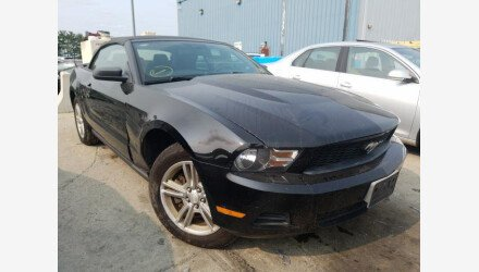 2011 Ford Mustang Convertible for sale 101410407