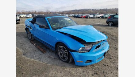 2011 Ford Mustang Convertible for sale 101442822