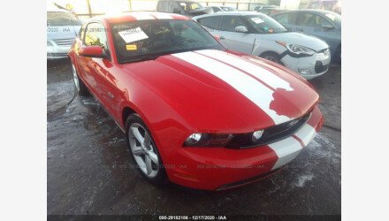2011 Ford Mustang GT Coupe for sale 101457679
