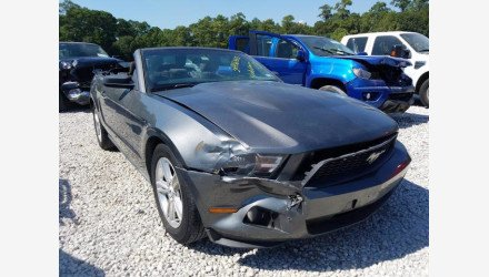 2011 Ford Mustang Convertible for sale 101460993