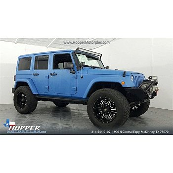 2011 Jeep Wrangler 4WD Unlimited Sport for sale 101070155