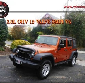 2011 Jeep Wrangler 4WD Unlimited Sport for sale 101053760
