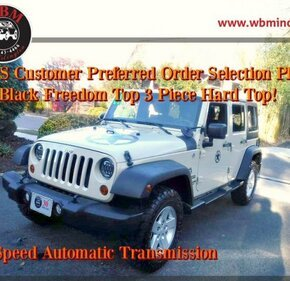 2011 Jeep Wrangler 4WD Unlimited Sport for sale 101105143