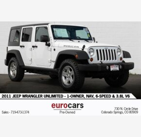 2011 Jeep Wrangler 4WD Unlimited Rubicon for sale 101209613