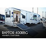 2011 Keystone Raptor for sale 300192104