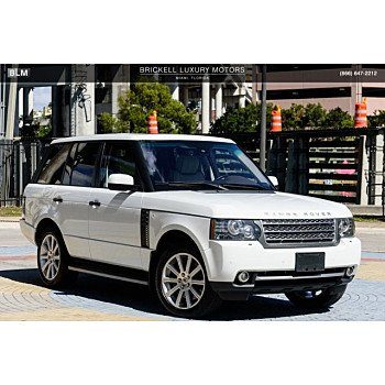 2011 Land Rover Range Rover Supercharged for sale 101087742