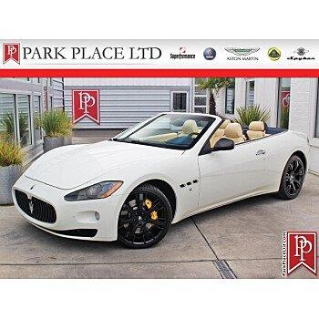 2011 Maserati GranTurismo Convertible for sale 101232313