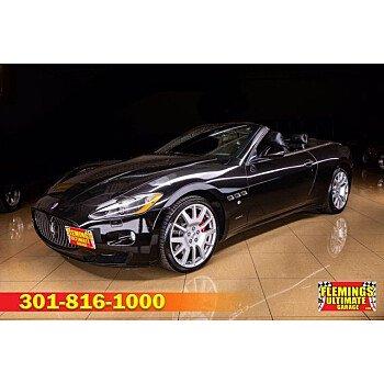 2011 Maserati GranTurismo for sale 101476793