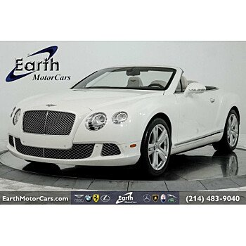 2012 Bentley Continental GT Convertible for sale 101215788