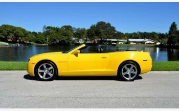 2012 Chevrolet Camaro LT Convertible for sale 101045665