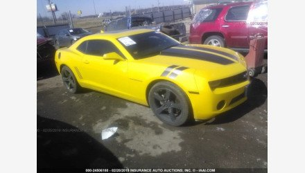 2012 Chevrolet Camaro LT Coupe for sale 101102645