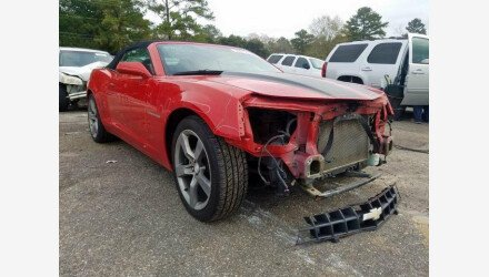 2012 Chevrolet Camaro LT Convertible for sale 101287144