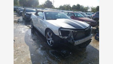 2012 Chevrolet Camaro LT Convertible for sale 101411303