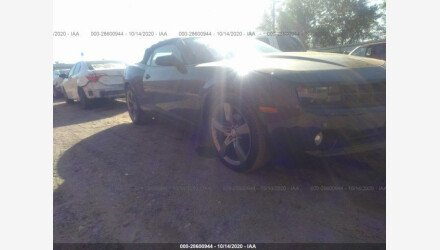 2012 Chevrolet Camaro LT Convertible for sale 101437962