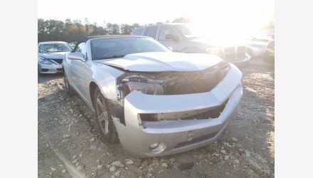 2012 Chevrolet Camaro LT Convertible for sale 101439807