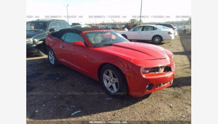 2012 Chevrolet Camaro LT Convertible for sale 101444188